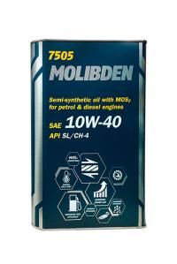 Масло моторное MANNOL Molibden Benzin 10W-40 API SL/CF