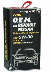 MANNOL 7705 O.E.M. RENAULT-NISSAN 5W-40