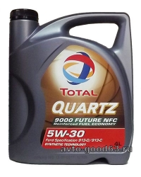 TOTAL QUARTZ 9000 FUTURE NFC 5W-30  API   SL/CF
