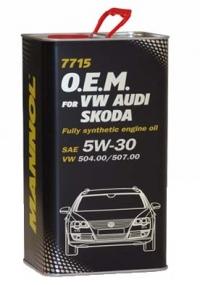 MANNOL 7715 O.E.M.Audi, Skoda, Seat 5W-30