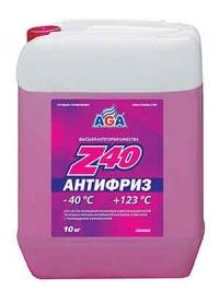 Антифриз AGA Z-40 красный  AGA Z-40