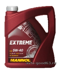 MANNOL EXTREME 5W-40 API: SN/CF