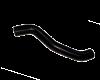 Патрубок радиатора нижний 2123-1303010