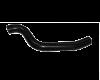Патрубок верхний радиатора подводящий ВАЗ-2110-12