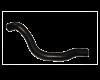 Патрубок нижний радиатора отводящий ВАЗ-2110-12