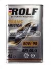 ROLF транс 80w90 п/синт GL-5 4л.