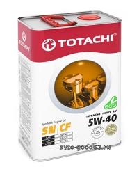 TOTACHI NIRO LV SYNTHETIC 5W-40 API SN/CF