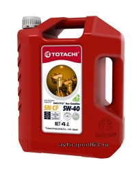 TOTACHI DENTO ECO GASOLINE SEMI-SYNTHETIC 5W-40 API SN/CF